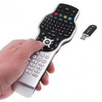 2.4G RF remote control for Windows media center with wireless keyboard + jogball mouse + IR learning