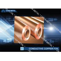 China RA Red Rolled Conductive Copper Foil For FPC , Decorative Copper Foil factory