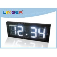China Remote Control Digital Gas Price Signs Iron / Steel Frame 2 Years Warranty factory