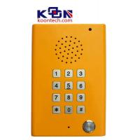 Buy cheap Loudspeaking Clean Public Telephones with Led Indicator , Highway Call Box from Wholesalers