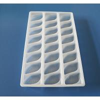 China Disposable Plastic packaging tray for food frozen tray dumpling tray on sale
