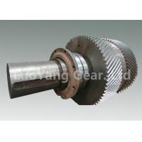 Buy cheap Large Size Machining Transmission Input Shaft / Steel Worm Wheel Shaft from Wholesalers