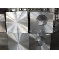 China ASTM A105 Carbons Steel Forged Block Normalized and Milled for Pressure vesel factory