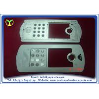 Buy cheap Building Interphone Aluminum Parts Manufacturing With Silver Anodizing from Wholesalers