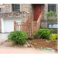 Buy cheap Durable Anti - Impact WPC Fence Panels / Eco - friendly Composite Deck Railings from Wholesalers