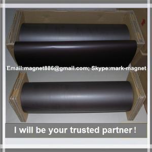 Buy cheap Magnetic sheet; Flexible rubber magnet plain Магнитный винил 0,9мм без клеевого слоя (0,62м х 30,5м) from Wholesalers