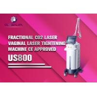 Buy cheap Co2 Laser Scar Removal Machine / Fractional Laser Equipment Painless Reliable Treatment from Wholesalers
