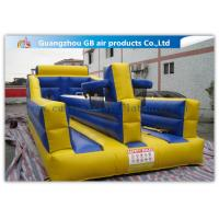China Exciting Child Bungee Run Inflatable Sports Games With Basketball Hoop factory