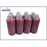 China CMYK Water Based Printing Ink Epson / Canon / HP Digital Printer Use factory