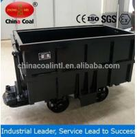 Buy cheap KC1.6 mineral carrier side dump mining cars made in China China Coal from Wholesalers