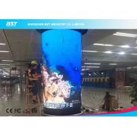 Buy cheap 360 Degree Flex LED Video Wall , Waterproof Flexible LED Panel 1920Hz from wholesalers