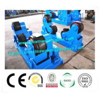 China Self Aligning Rotator / Pipe Weld Rotator With PU Roller For Boiler Industry factory