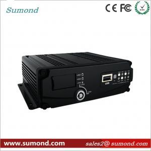 China 4CH 1080P AHD Digital Video Recorder GPS Car DVR SD Card CCTV HD Vehicle Camera on sale