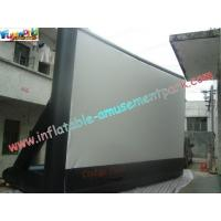 China Portable Outdoor Inflatable Movie Screen Rental / Movie Theater Screen on sale