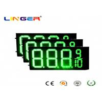 China IP54 Rear Waterproof RF Controller LED Gas Station Price Signs 12 Inch factory