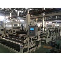 China Durable Slitter Rewinder Machine , Paper Roll Rewinding Machine Adjsutable Slitting Width on sale