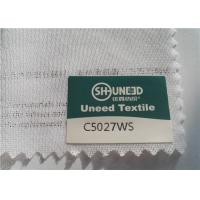 Buy cheap Circular Knit Stretch Interlining Material C5027WS With Double Dot PES Coating from Wholesalers
