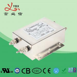 China Screw 150A AC Electrical Noise Filter , Two Stage Single Phase EMI Filter factory