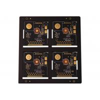 Buy cheap OEM special design 0.15mm ultrathin double side rigid PCB 4 layers from Wholesalers
