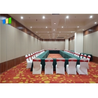 Buy cheap Sound Insulation Acoustic Removable Panel Movable Aluminium Office Sliding Partition Wall for Meeting Room from wholesalers