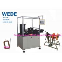 Buy cheap Auto Paper Inserting Coil Winding Machine By Flat Wire PLC Control Mode from Wholesalers