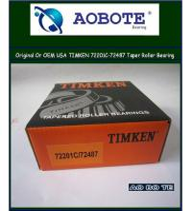 Buy cheap Tapered Roller Bearing , Origin USA timken tapered roller bearing 72201C / 72487 from Wholesalers
