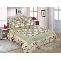 Matched Printed Designs Home Bed Quilts Country Style 180x240cm For Bedcovers