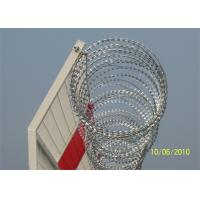 Buy cheap Hot Dipped Galvanized Razor Barbed Wire Crossed Fence BTO-22 CBT-65 from Wholesalers