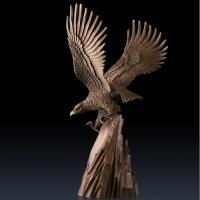 Buy cheap 2016 high quality bronze animal statue of bronze eagle statue for sale from Wholesalers