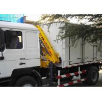 China Durable Commercial Knuckle Boom Truck Mounted Crane , 3200kg 6.72 T.M Lifting factory