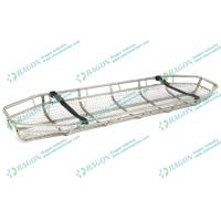 Buy cheap Stainless steel Rescue Basket Stretcher with adjustable feet - securing mechanism from Wholesalers
