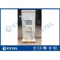 Buy cheap Floor Mounted Outdoor Telecom Cabine , 40u 19 Inch Rack Cabinet Flame Retardant from wholesalers