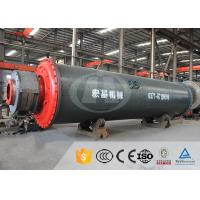China Wet Process Industrial Ball Mill Steel 15-155kw Power For Gold Ore on sale