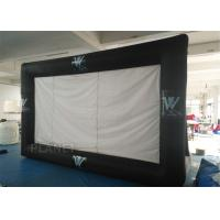 China Portable Inflatable Projector Movie Screen Logo Printing EN14960 Approved factory