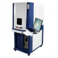Buy cheap 300*300mm fiber laser marking machine 1 MJ less than 600W AC220V/50HZ from Wholesalers