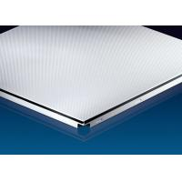 Buy cheap Hanging  Clip In Metal Ceiling , False Clip Tile  600x600mm  Sound Dampening from Wholesalers