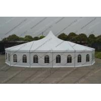 China Customized Design Aluminum PVC Cover  Windows High Peak Canopy Pagoda Tent for Parties and Outdoor Event on sale