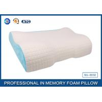 Buy cheap Different Height  Wave Memory Foam Contour Pillow with Deluxe Comfort Pillow Cover from Wholesalers