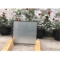 China Clear / Colored Thermally Efficient Glass Withstand Wind Aluminum Strips on sale