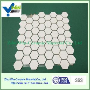 China 3.6g/cm3 high density alumina ceramic tile/mosaic tile/plate factory