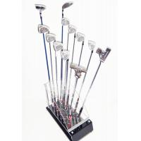 China High Quality custom Golf Club Display Stand (12 Golf's Club Storage) Camber Acrylic factory