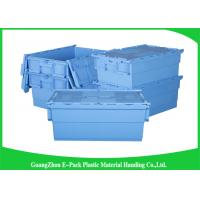 Warehouse Plastic Attached Lid Containers Transport Packaging Environmental Protection