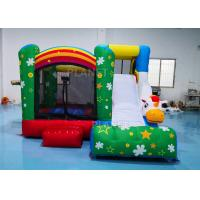 China 3.55*3.3*2.5m Inflatable Sports Games / Inflatable Unicorn Bouncer With Slide factory