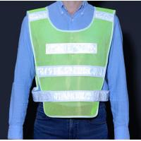 China Traffic Safety Reflective vest , Visible construction spot work wear factory