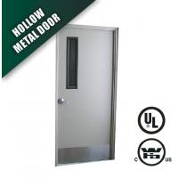 Quality narrow vision glass steel fire door wholesale