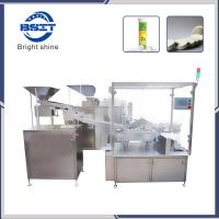 China Effervescent Tablet  counting and filling tube packing machine for Vitamic C food health factory