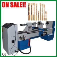 Wood staircase making machine Computer CNC Wood Turning Lathe Max. working length 1500mm