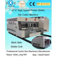 Buy cheap 380V Stable Carton Packing Machine With Die Cutter / Corrugated Case Flexo Printer from Wholesalers