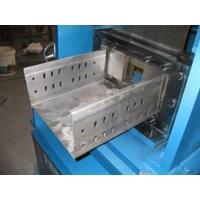 Custom  Small Cable Tray Roll Forming Machine Thickness 1mm - 2mm Width 50mm