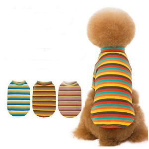 China Christmas New Dog Clothes Knitted Warm Plaid Striped Small Dog Sweater Vest factory